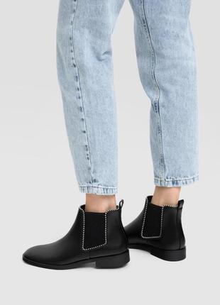 Ботинки низкие stradivarius размер 36 37 38 39 40