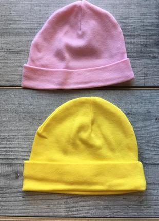 Комплект шапочек для новорожденного