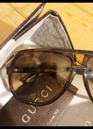 Очки gucci aviator sunglasses