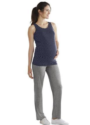 Трикотажные брюки для беременных от esmara р. s 36 - 38 европ.