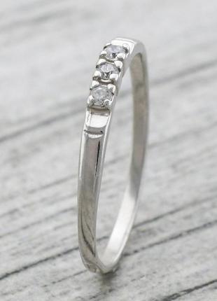 Кольцо серебряное ангелина 1466