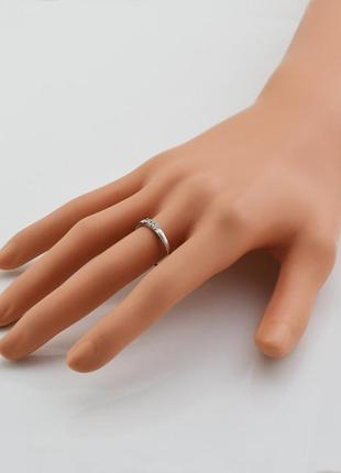 Кольцо серебряное ангелина 14664