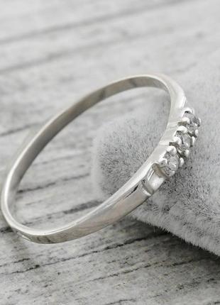 Кольцо серебряное ангелина 14662
