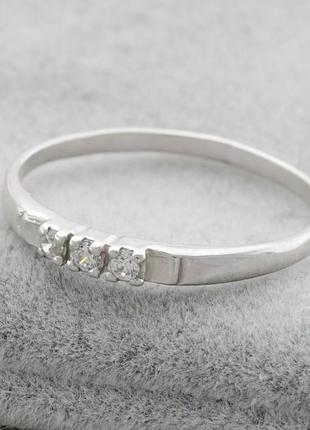 Кольцо серебряное ангелина 14663
