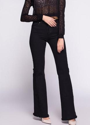 Мега крутые джинсы клёш bershka