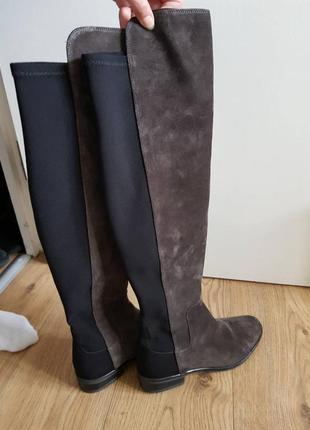 Clarks сапоги на низком каблуке, осень