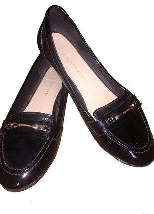 Балетки , туфли , макасины лаковые