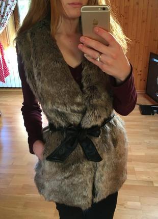 Жилетка/накидка bershka outerwear