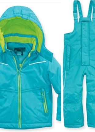Зимний комплект куртка и полукомбинезон от impidimpi 74-80