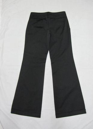 Stefanel классические черные брюки кюлоты размер м