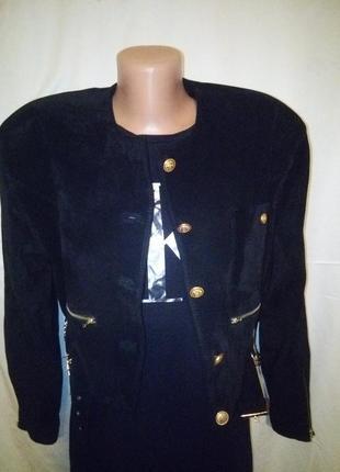 Обалденная замшевая короткая куртка курточка