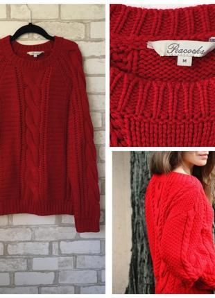 Очень красивый вязанный свитер, джемпер