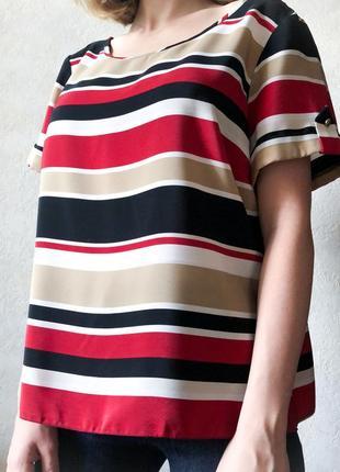 Блуза в полоску m&co