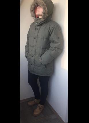 Аляска теплющий пуховик милитари hein gericke fast forward since 1970  (s) -(m)