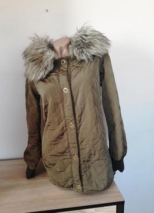 Куртка-парка zara, розмір s
