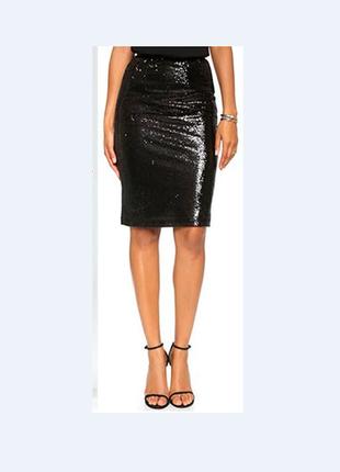 Блестящая юбка american apparel м длина 5 7см