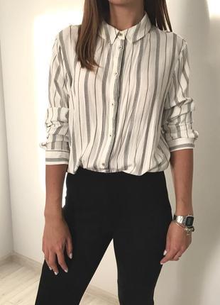 Блуза рубашка в полоску atmosphere