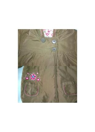 Куртка демисезонная утеплённая воздушная topolino рост 98 см5