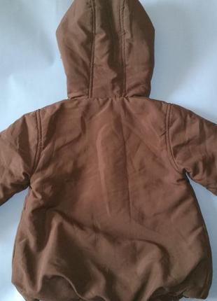 Куртка демисезонная утеплённая воздушная topolino рост 98 см3
