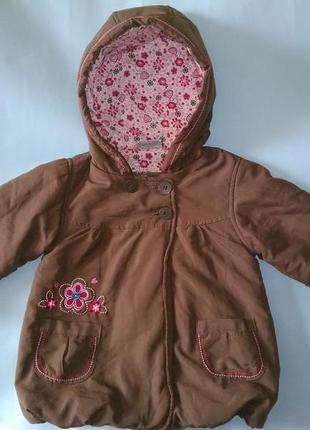 Куртка демисезонная утеплённая воздушная topolino рост 98 см1