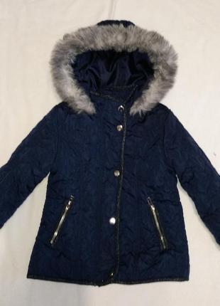 """Демисезонная стеганная куртка """" ff """" 2-3 г 98 см"""