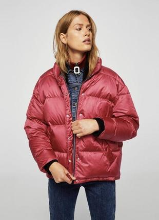 Куртка зима пух mango 38 m