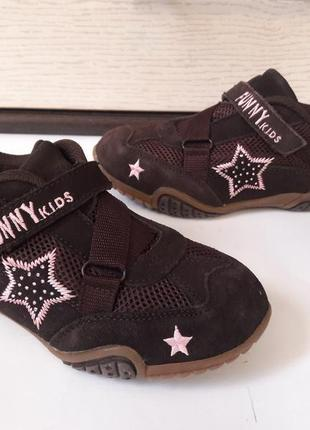 Фирменные кроссовки от funni kids
