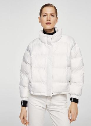 Куртка пуховик mango s 36