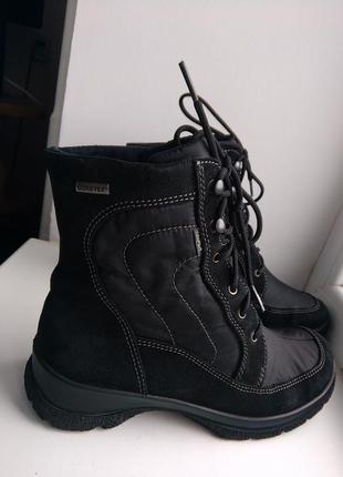 Сапожки-ботинки legero gore-tex 37р осень-зима