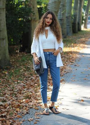 Крутые мом джинсы mac