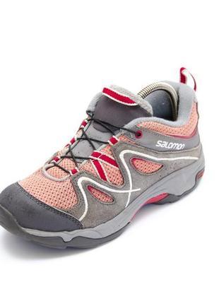 Трекинговые кроссовки salomon contagrip. стелька 21, 5 см