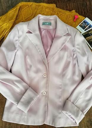Пудровый пиджак от wallis