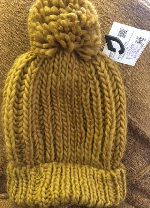 Тёплая шапка с&а