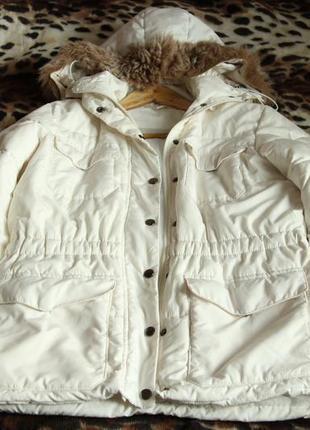 Зимняя куртка с цегейкой