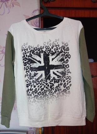 Обалденный свитшот свитер кофта джемпер