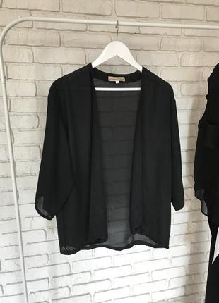 Шифоновое кимоно накидка свободного кроя