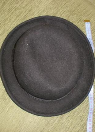 Шерстяная шляпа шапка федора