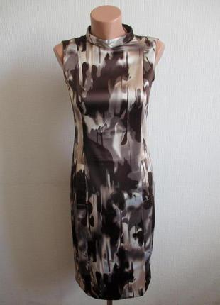 Платье-футляр в принт oggi