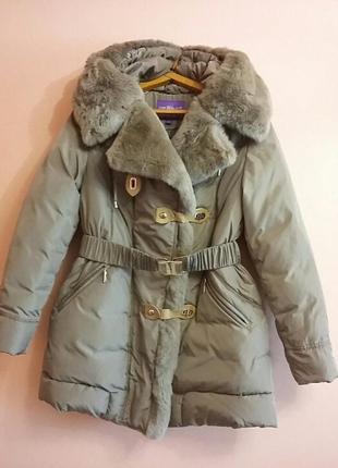 Очень тёплая куртка пуховик