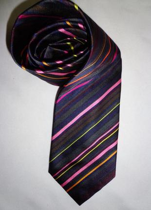 Paul smith галстук  мужской шелк англия