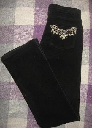 Велюровые джинсы sinequanone