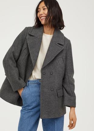 Двубортная куртка, 34-й (xs) - 36р (s), полиэстер 100%