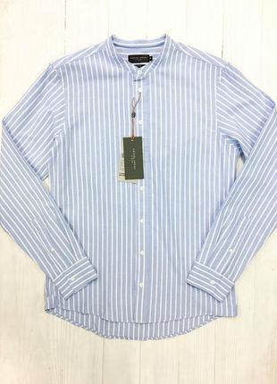 Шикарна сорочка в полоску від дорогого бренду casual friday