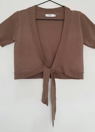 Болеро из тонкой вязаной ткани от bpc