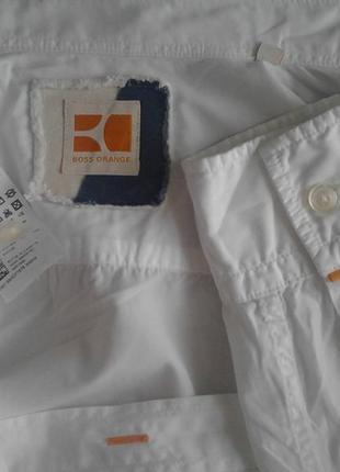 Крутая стильная белая рубаха,коттон,карманы,рукав подвор. hugoboss