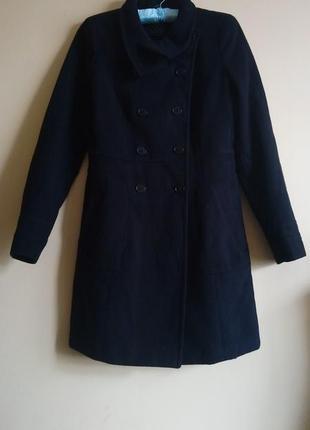 Шикарное пальто zara trafalluc милитари классика двубортное
