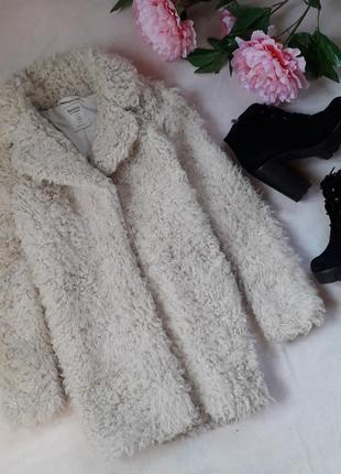 Эко шубка пальто из меха