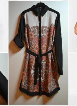 Красивое платье - рубашка oasis