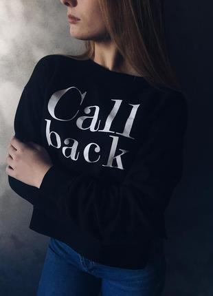 Свитшот реглан свитер кофта джемпер от бершука bershka
