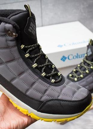 Мужские зимние ботинки на меху columbia omni-grip 8bd8b91b50c07